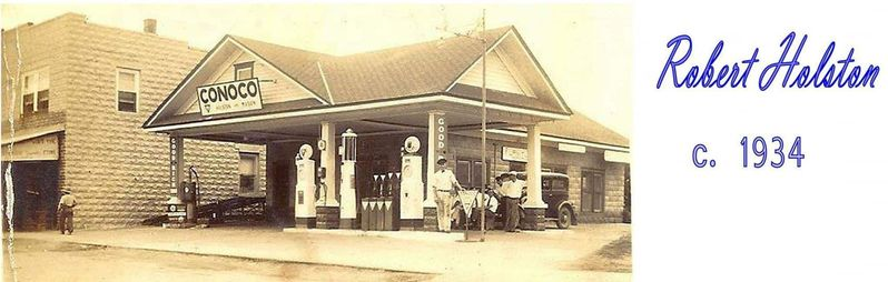 Chincoteague, VA  (Holston & Mason station  4080 Main St.)  <Bennett EM-150 & Visible pumps>  {CAN}  [FB Blue Crab Treasures].jpg