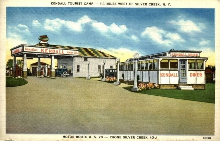Silver Creek NY, Kendall Tourist Campa.jpg