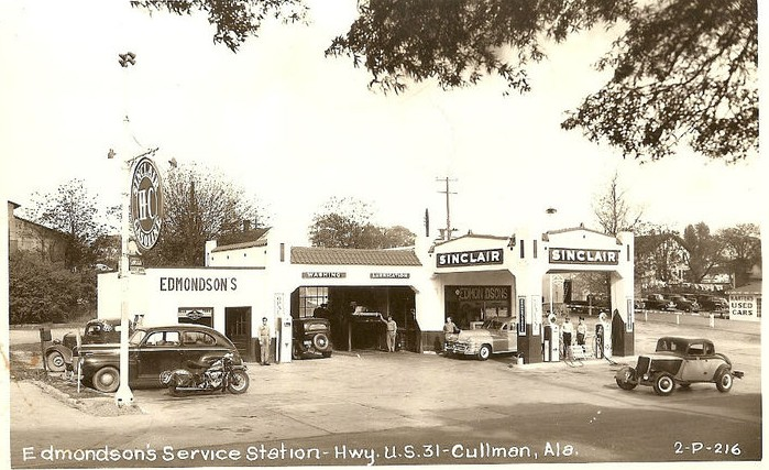 Edmondson's Service Station, Cullman, Alabama.JPG