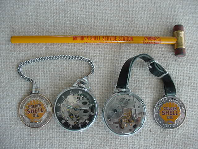 Shell Watches, Fobs & Pencil.JPG